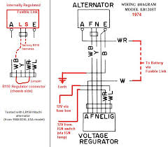 tech wiki ir alternator conversion wiring datsun 1200 club wiring diagram