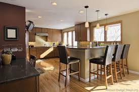 02 modern medium wood kitchen