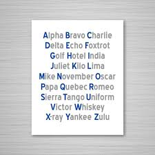 Let's learn the nato military alphabet code words and their pronunciation. Phonetic Alphabet Printable Art Navy Gray Aeronautical Etsy