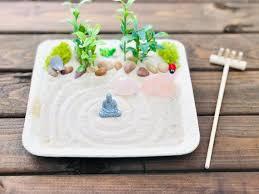 mini zen garden sand garden diy kit