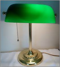 bankers desk lamp shade with melbourne