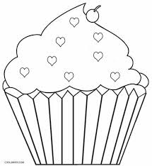 Small Picture Free Printable Cupcake Coloring Pages For Kids Cool2bKids