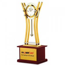 Employee Of The Month Trophy Trophy Best Employee Of The Year