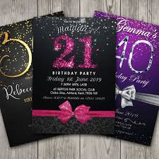 birthday invitations personalised party 18th 21st 30th centerpieces for male 40th birthday party centerpieces for men s