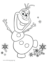 Snowman Coloring Pages Frosty The Snowman Coloring Page Clever