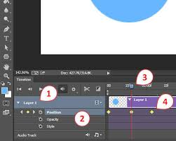When you are creating an animated gif in photoshop, you'll need to be sure that each individual frame has its own layer. How To Create An Advanced Photoshop Animation Smashing Magazine