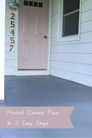 how to paint a cement floor in 3 easy steps the dempster logbook