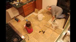 Replacing Kitchen Tiles Time Lapse Kitchen Floor Replacement Youtube