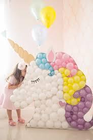 diy unicorn decor awesome diy balloon decor ideas on unicorn head wall decor