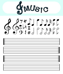 Line Notes Template Pin By L Brown On Template String Art And Stenciling Musical Notes