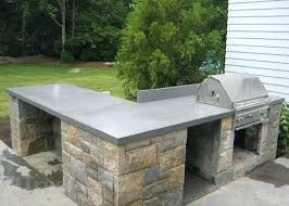 outdoor concrete countertops concrete i was thinking these would be cool in the kitchen and even cooler outside best outdoor concrete countertop sealer