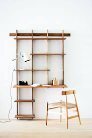 Wall Shelves With Desk Best 20 Wall Mounted Desk Ideas On Pinterest Space Saving Desk