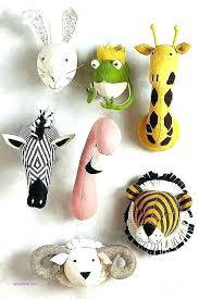 animal wall mounts stuffed animal wall mounts fancy animal head wall decor in conjunction with pig animal wall mounts