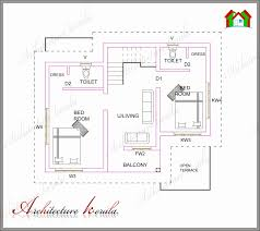 small home plans under 900 sq ft unique 2 bedroom house plans in kerala floor plans