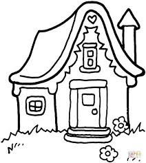 Small Picture House in the Wilderness coloring page Free Printable Coloring Pages