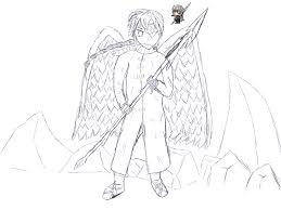 Coloring Pictures Of Angels — FITFRU Style : Printable Angel ...