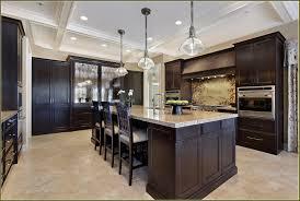 Kitchen Cabinet Design Kitchen Straight Dark Cabinets Light