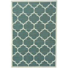 berrnour home contemporary moroccan trellis sage green 5 ft x 7 ft area rug