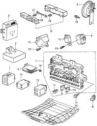 1983 honda civic 3 door fe 1300 ka 5mt fuse box relay