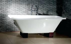cast iron bathtub nova inch rectangular dual cast iron bathtub still waters bath 1 paint inside cast iron bathtub