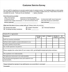 Internal Customer Service Survey Customer Satisfaction Surveys