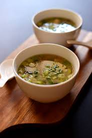 bowls of our traditional miso soup recipe