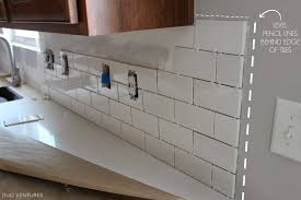 Amazing How To Install Glass Subway Tile Backsplash In Kitchen Images  Design Ideas