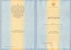 Диплом о высшем образовании ДИПЛОМ СПЕЦИАЛИСТА ОБРАЗЕЦ 2017 2018 г