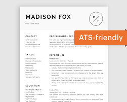 Minimal Resume Template Word Minimal Cv Template For Mac Modern Resume Template Pages Curriculum Vitae Template Free Ats Friendly