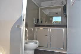 Bathroom Trailer Rental Fascinating Two Station Restroom Trailer Rental Right Trailers New And