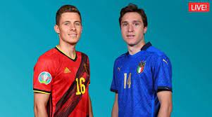 UEFA EURO 2020, Belgium vs Italy ...