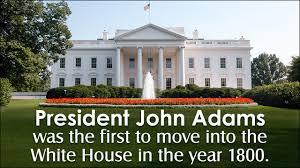 Image result for john adams white house