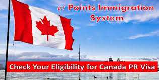 Canadian City Distance Chart 67 Points Calculator For Canada Pr 2019 Canada Points System