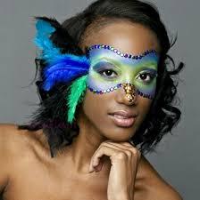 pea masquerade mask makeup truglam