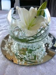 glass bowl flower centerpieces vases bubble vase centerpiece how to arrange flowers in a fishbowl vase