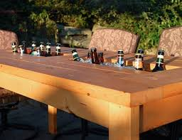 DIY: Build a Patio Table with a Built-In Cooler