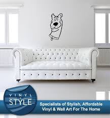 scooby doo decal decor sticker wall art graphic various colour