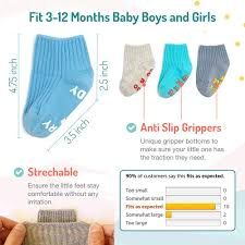 Funny Baby Socks Gift Set For Newborn Boys Girls Baby Shower New Mom Cute Quotes