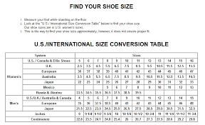 Ellie Shoes Size Chart Size Charts