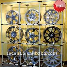 Alloy Wheel Display Stand Sell Adjustable Car Wheel Display Stand Rackid100 from 31