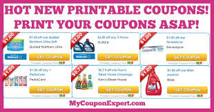HOT NEW Printable Coupons: Purex, PediaCare, Ken's Dressings, Wisk ... & CHECK THIS OUT!! Adamdwight.com