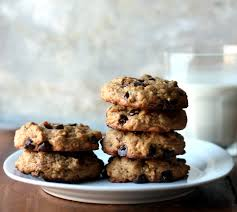 thick chewy peanut er oatmeal chocolate chip cookies made without er or flour delicious