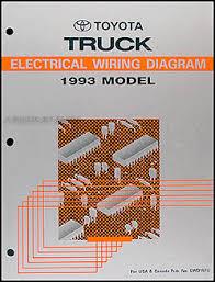 1993 toyota pickup truck wiring diagram manual original