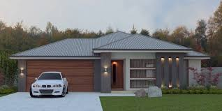 4 Bed House Plans Front New Modern