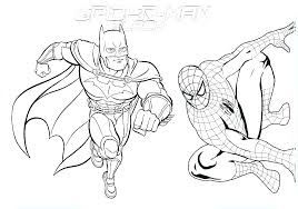 Spiderman Coloring Pictures Printable Coloring Pages Awesome