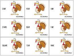 Thanksgiving Articulation - Speech Room News