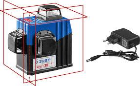 <b>Нивелир лазерный</b> линейный <b>Зубр</b> Профессионал <b>Крест</b>-<b>3D</b> ...