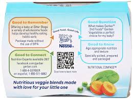 Gerber Baby Food Age Chart New Amazon Gerber 2nd Foods