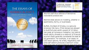 the essays of warren buffett lessons for corporate america  the essays of warren buffett lessons for corporate america fourth edition