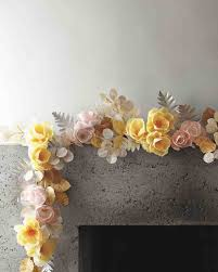Paper Flower Garlands How To Make Paper Flowers Paper Flower Garlands Paper